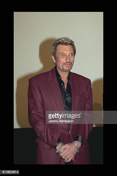 Johnny Hallyday costar of the movie at the UGC Cine Cite Bercy
