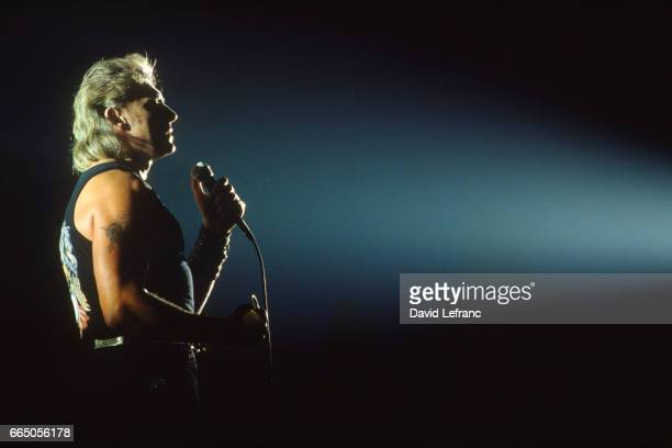 Johnny Hallyday in concert at Bercy