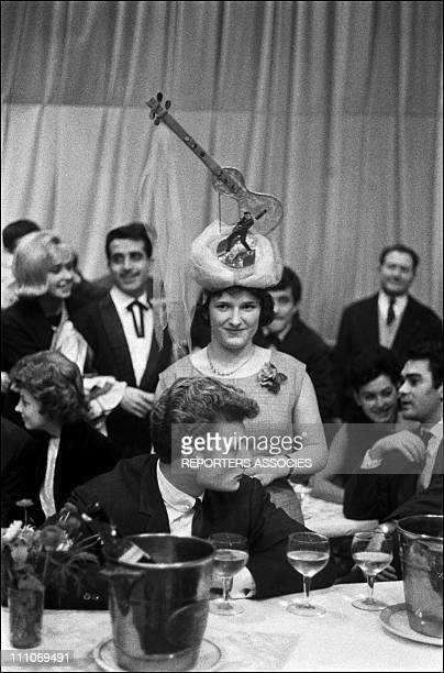 Johnny Hallyday in the sixties in France Johnny Hallyday at the Bal des Catherinettes in France in November 1961
