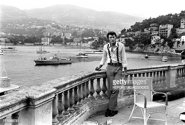 Johnny Hallyday in the sixties in France Johnny Hallyday on the French Riviera in France on August 27 1967