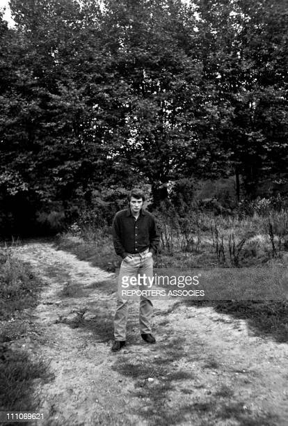 Johnny Hallyday in the sixties in France Portrait of Johnny Hallyday on September 27 1966 in France On September 10 genuinely depressed he tried to...