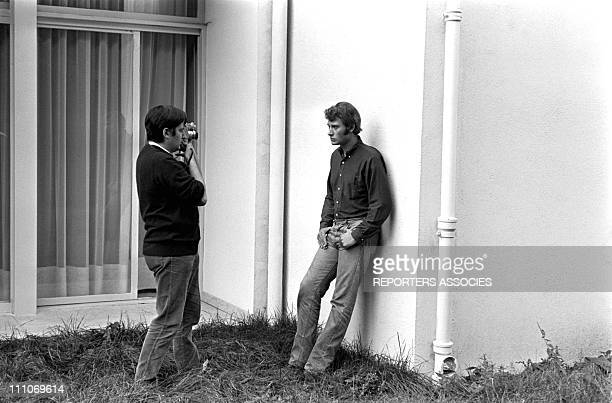 Johnny Hallyday in the sixties in France Shot of Johnny Hallyday on September 27 1966 in France On September 10 genuinely depressed he tried to...