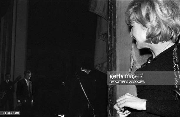 Johnny Hallyday in the sixties in FranceSylvie Vartan and Johnny Hallyday reconciled in France on December 24 1963