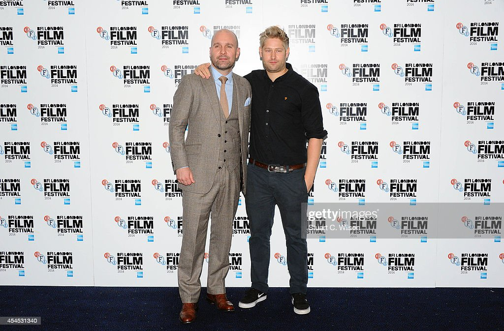 Johnny Harris and <a gi-track='captionPersonalityLinkClicked' href=/galleries/search?phrase=Tom+Green&family=editorial&specificpeople=208982 ng-click='$event.stopPropagation()'>Tom Green</a> attend the BFI London Film Festival press launch at Odeon Leicester Square on September 3, 2014 in London, England.