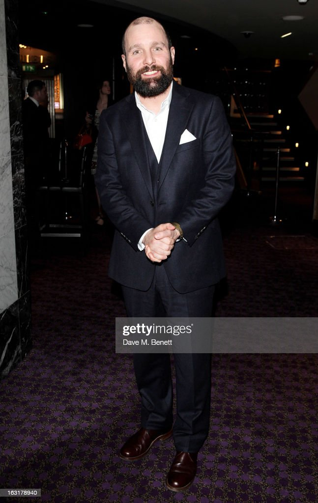 Johnny Harris attends an after party following the 'Welcome To The Punch' UK Premiere at the Hippodrome Casino on March 5, 2013 in London, England.