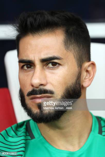 Johnny Herrera of Chile during the FIFA Confederations Cup Russia 2017 Group B match between Chile and Australia at Spartak Stadium on June 25 2017...