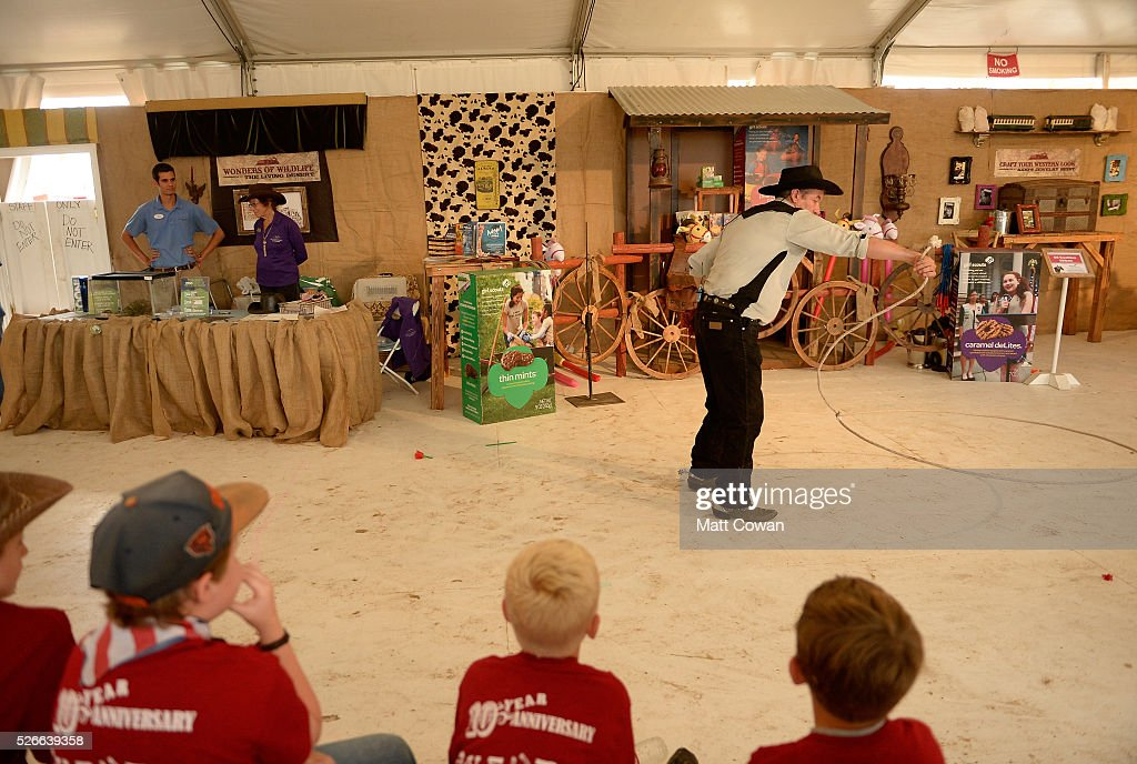 Johnny Hotshot performs at the Half-Pint Hootenanny during 2016 Stagecoach California's Country Music Festival at Empire Polo Club on April 30, 2016 in Indio, California.