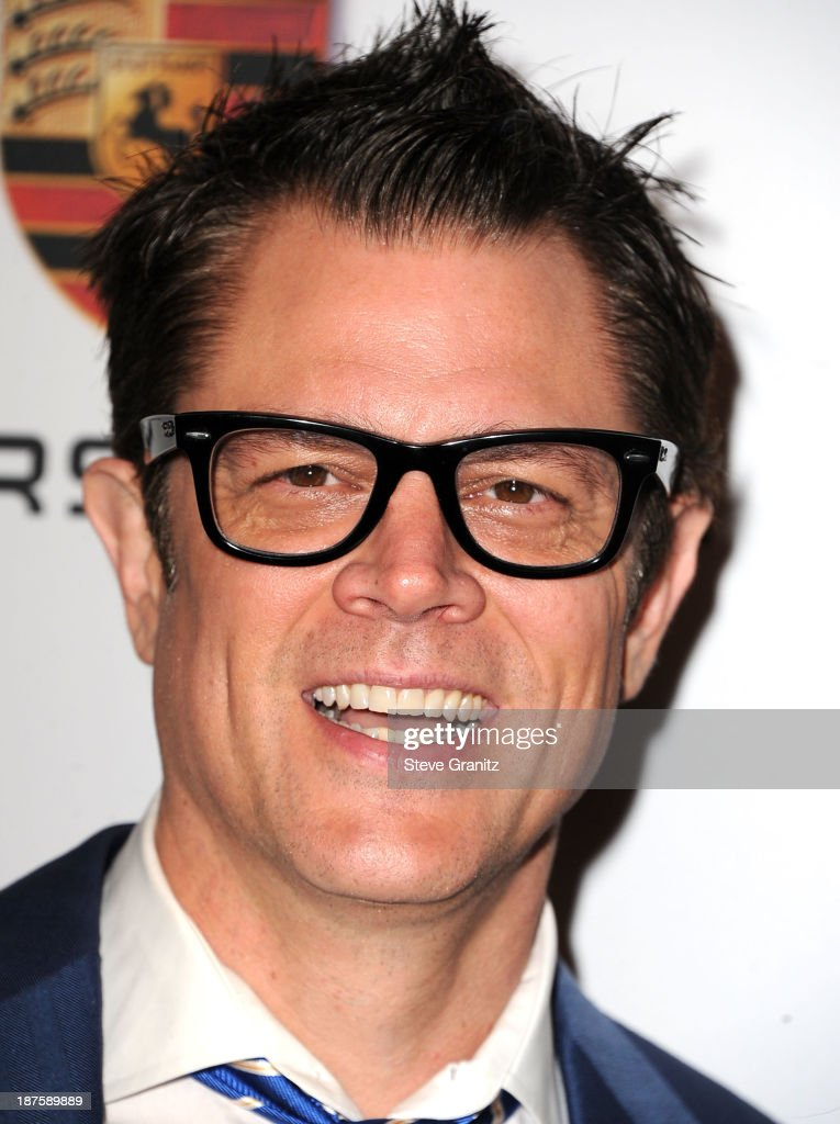 <a gi-track='captionPersonalityLinkClicked' href=/galleries/search?phrase=Johnny+Knoxville&family=editorial&specificpeople=206210 ng-click='$event.stopPropagation()'>Johnny Knoxville</a> arrives at the 2nd Annual Baby2Baby Gala at The Book Bindery on November 9, 2013 in Culver City, California.
