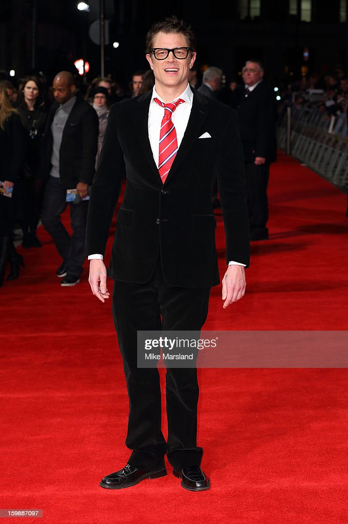 Johnny Knoxville attends the European Premiere of The Last Stand at Odeon West End on January 22, 2013 in London, England.