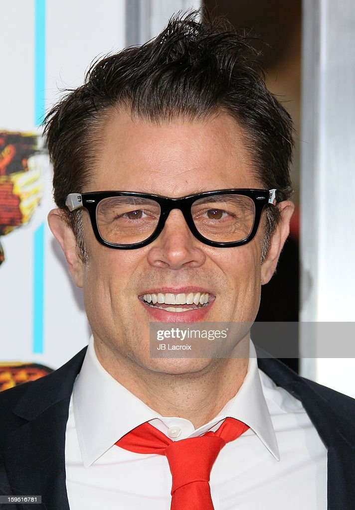<a gi-track='captionPersonalityLinkClicked' href=/galleries/search?phrase=Johnny+Knoxville&family=editorial&specificpeople=206210 ng-click='$event.stopPropagation()'>Johnny Knoxville</a> attends 'The Last Stand' - Los Angeles Premiere at Grauman's Chinese Theatre on January 14, 2013 in Hollywood, California.