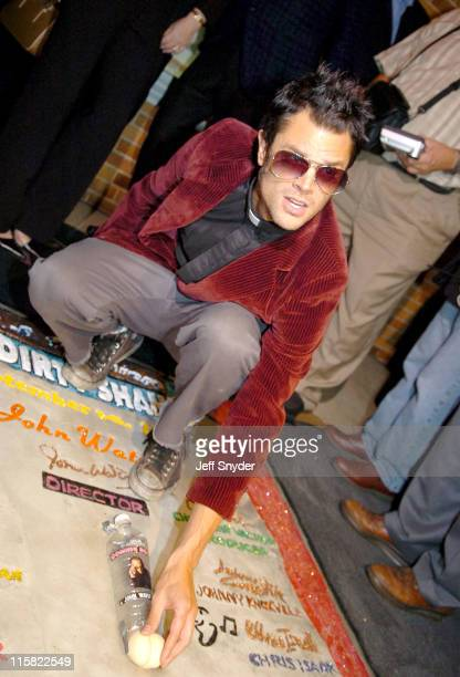 Johnny Knoxville during 'A Dirty Shame' Baltimore Premiere at The Senator Theatre in Baltimore MD United States