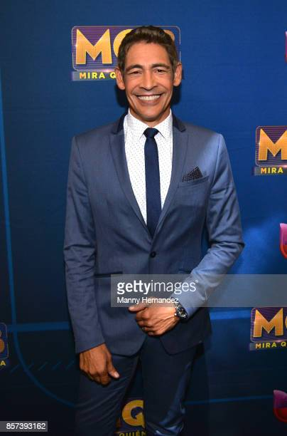 Johnny Lozada at taping for Mira Quien Baila at Univision Studios on October 1 2017 in Miami Florida