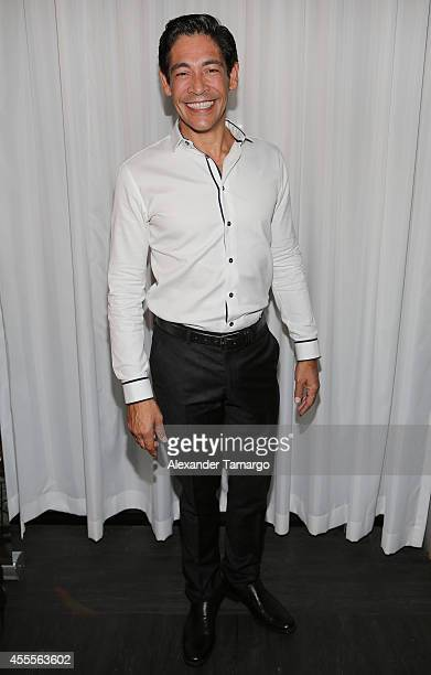 Johnny Lozada attends The Israel Ministry of Tourism Reception at Briza on the Bay on September 16 2014 in Miami Florida