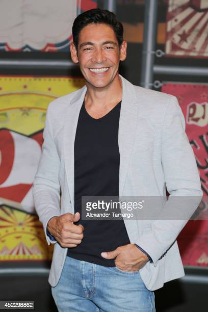 Johnny Lozada attends the Premios Juventud 2014 at The BankUnited Center on July 17 2014 in Coral Gables Florida