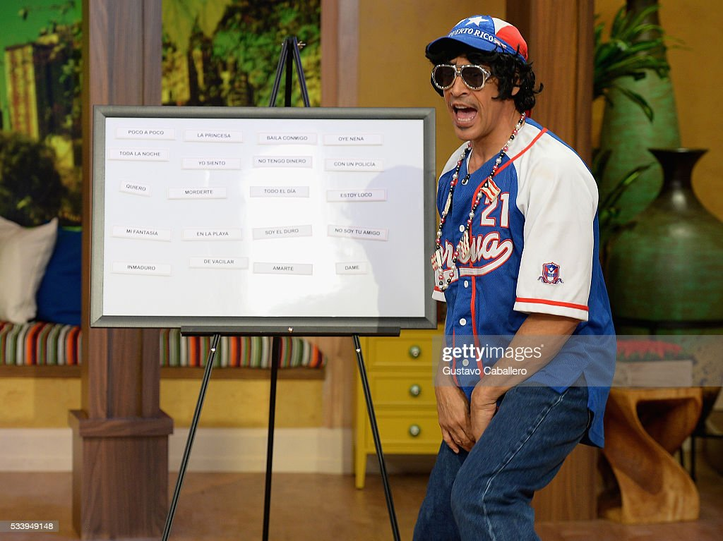 <a gi-track='captionPersonalityLinkClicked' href=/galleries/search?phrase=Johnny+Lozada&family=editorial&specificpeople=7994478 ng-click='$event.stopPropagation()'>Johnny Lozada</a> is on the set of Univision's 'Despierta America' at Univision Studios on May 24, 2016 in Miami, Florida.