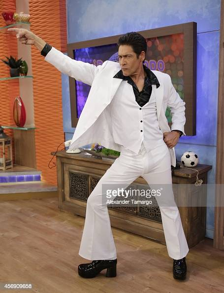 Johnny Lozada is seen on the set of Despierta America at Univision Headquarters on October 9 2014 in Miami Florida