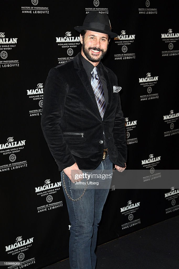 Johnny Luzzini attends The Macallan Masters Of Photography Series launch at The Bowery Hotel on October 10, 2012 in New York City.