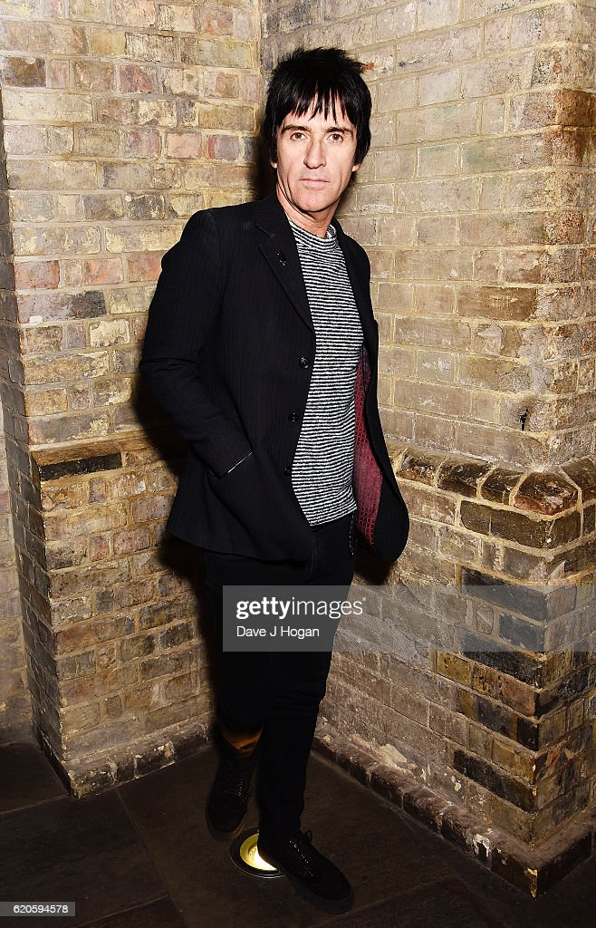Johnny Marr attends The Stubhub Q Awards 2016 at The Roundhouse on November 2, 2016 in London, England.