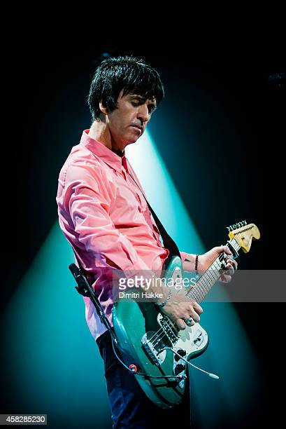 Johnny Marr performs on stage at Tolhuistuin on November 1 2014 in Amsterdam Netherlands
