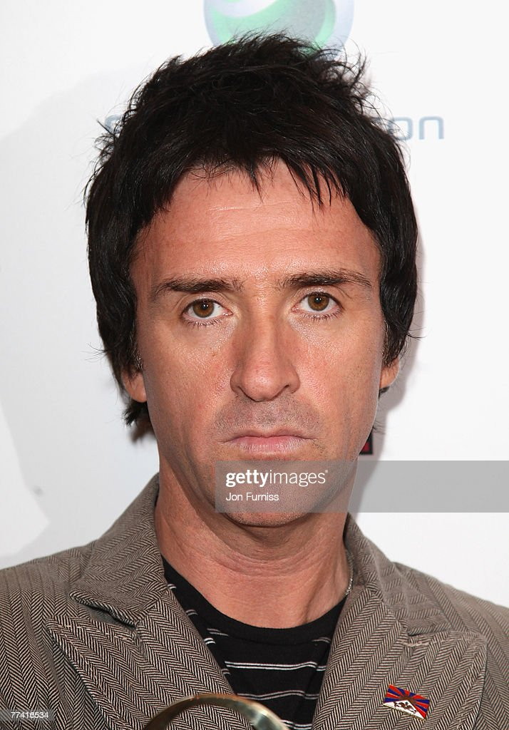 Johnny Marr with the award for Q Lifetime Acheivement at The Q Awards 2007 held at the Grosvenor House Hotel on October 8 2007 in London