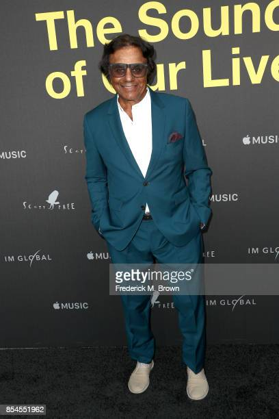 Johnny Mathis attends the Apple Music Los Angeles Premiere Of 'Clive Davis The Soundtrack Of Our Lives' at Pacific Design Center on September 26 2017...