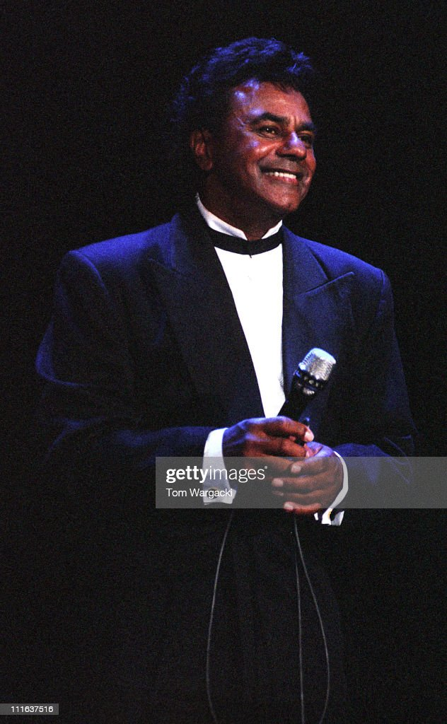 Johnny Mathis during Johnny Mathis in Concert at Brighton Centre September 181996 at Brighton Centre in Brighton Great Britain