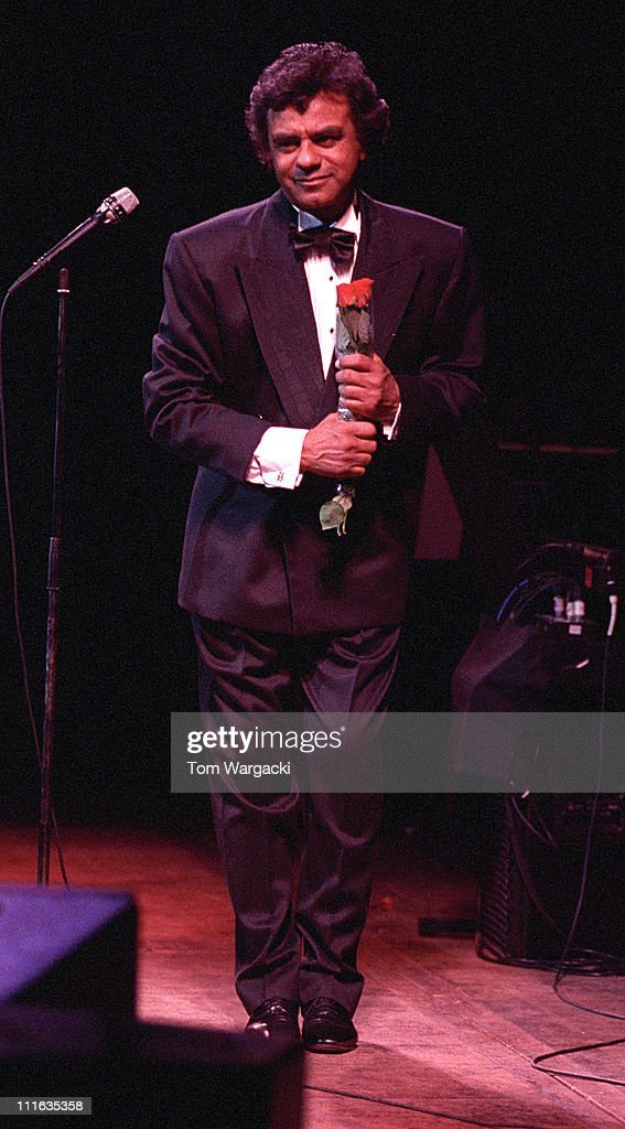 Johnny Mathis during Johnny Mathis in Concert at Royal Albert Hall April 3 1991 at Royal Albert Hall in London Great Britain