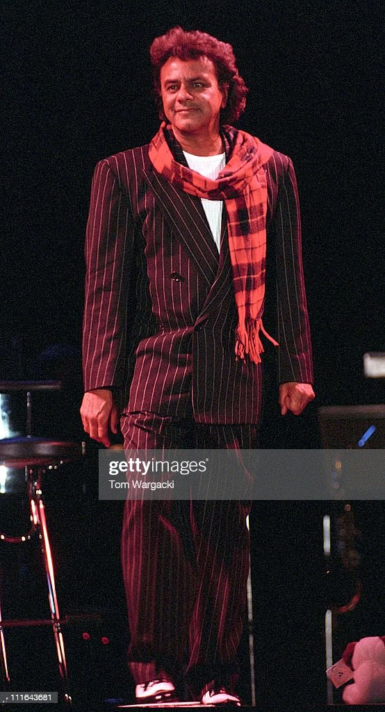 Johnny Mathis during Johnny Mathis in Concert September 26 1993 at Glasgow SECC in Glasgow Great Britain