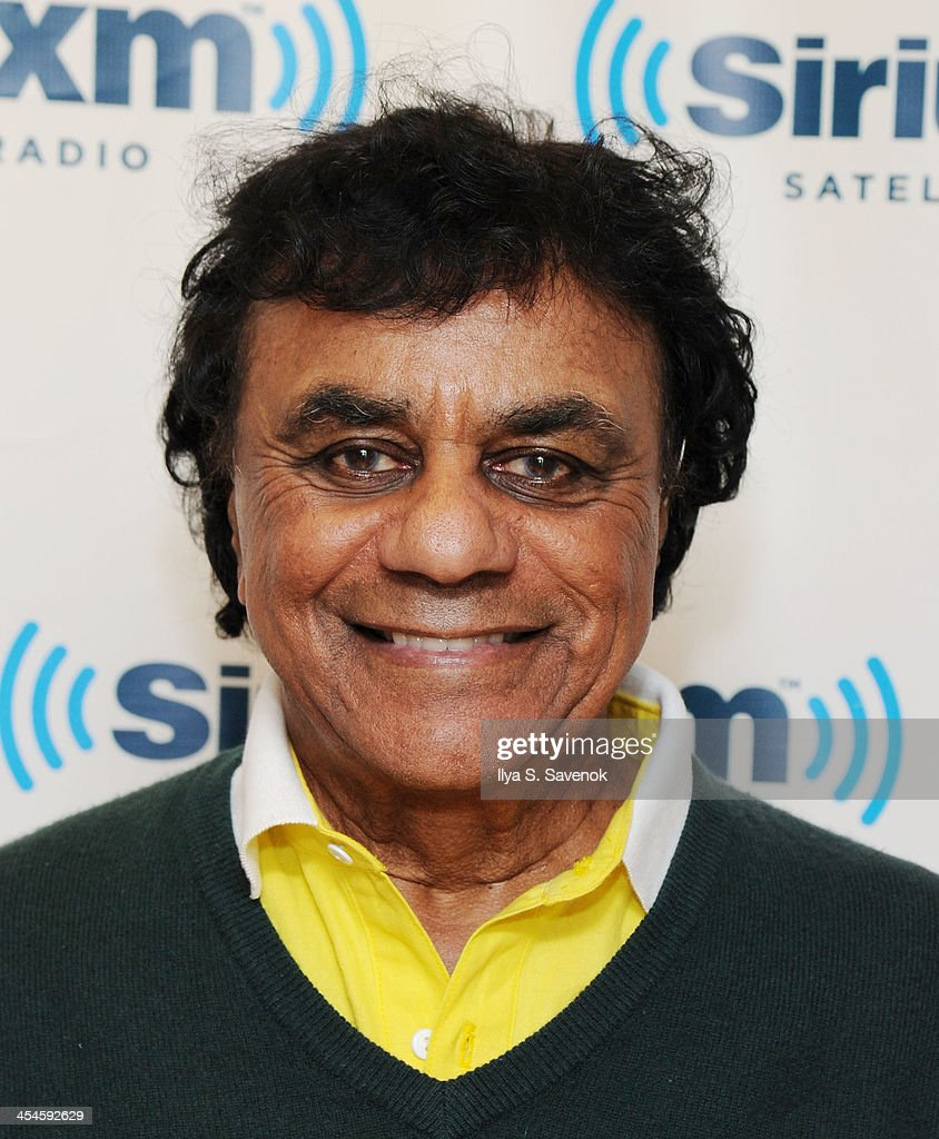 Johnny Mathis visits the SiriusXM Studios on December 9, 2013 in New York City.