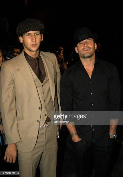 Johnny Messner and guest during VH1 Big in 2003 Arrivals at Universal Amphitheater in Universal City California United States