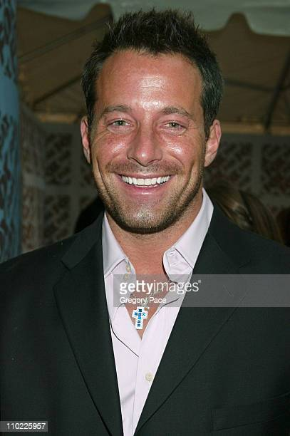 Johnny Messner during 2005/2006 FOX Prime Time UpFront Inside Green Room and Party at Seppi's Restaurant and Central Park Boathouse in New York City...