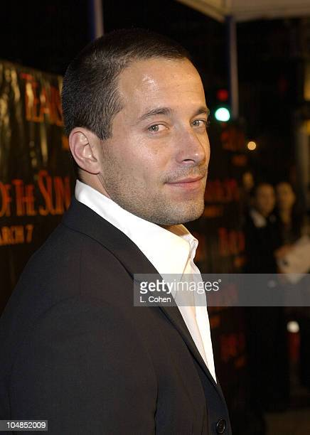 Johnny Messner during 'Tears Of The Sun' Premiere at Mann's Village in Westwood California United States