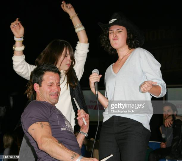 Johnny Messner Scout Willis and Rumer Willis during Sony Computer Entertainment America and the Bruce Willis Foundation Present Playstation...