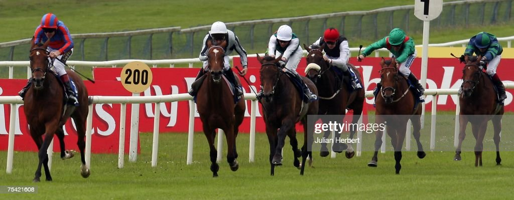 Johnny Murtagh and Peeping Fawn land The Darley Irish Oaks Race run at The Curragh Racecourse on July 15 in The CurraghIreland
