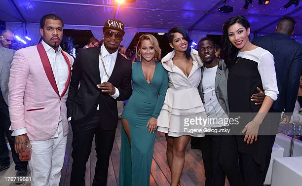 Johnny Nunez NeYo Adrienne Bailon Ravaughn Brown Kevin Hart and Bridget Kelly attend the The Compound Foundation 2nd Annual 'Fostering A Legacy'...