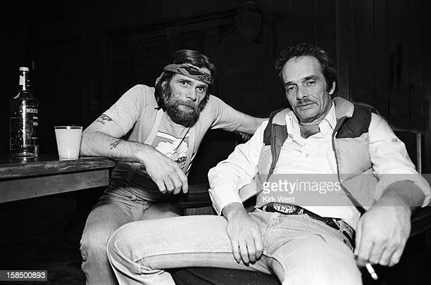 Johnny Paycheck and Merle Haggard at Countryside Opry Chicago Illinois October 31 1980