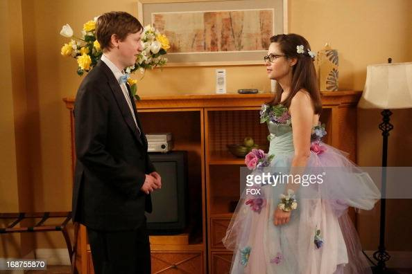 Johnny Pemberton and Zooey Deschanel stars in the 'Virgins' season finale episode of NEW GIRL airing Tuesday April 30 2013 on FOX