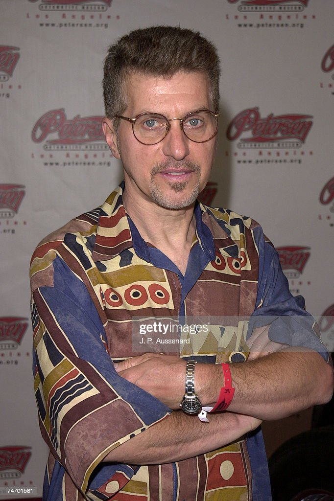 Johnny Rivers at the Petersen Automotive Museum in Los Angeles, California