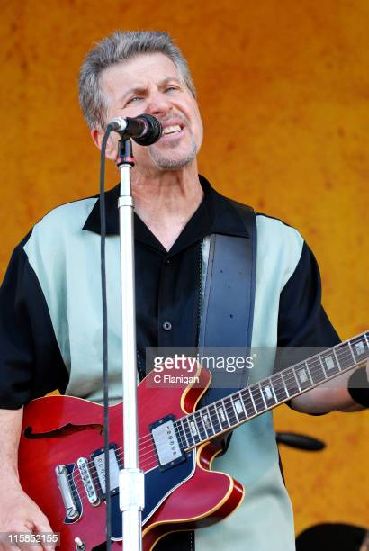 Johnny Rivers during 38th Annual New Orleans Jazz Heritage Festival Presented by Shell Johnny Rivers at Fair Grounds Race Course in New Orleans...