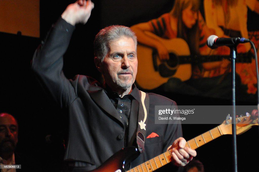 Johnny Rivers performs at the 50th Anniversary Celebration Of 'When Rock And Blues Hit The Sunset Strip' at Saban Theatre on January 15, 2014 in Beverly Hills, California.