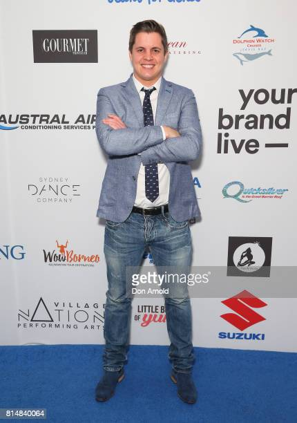 Johnny Ruffo arrives ahead of the Jeans For Genes Denim Dinner at The Star on July 15 2017 in Sydney Australia