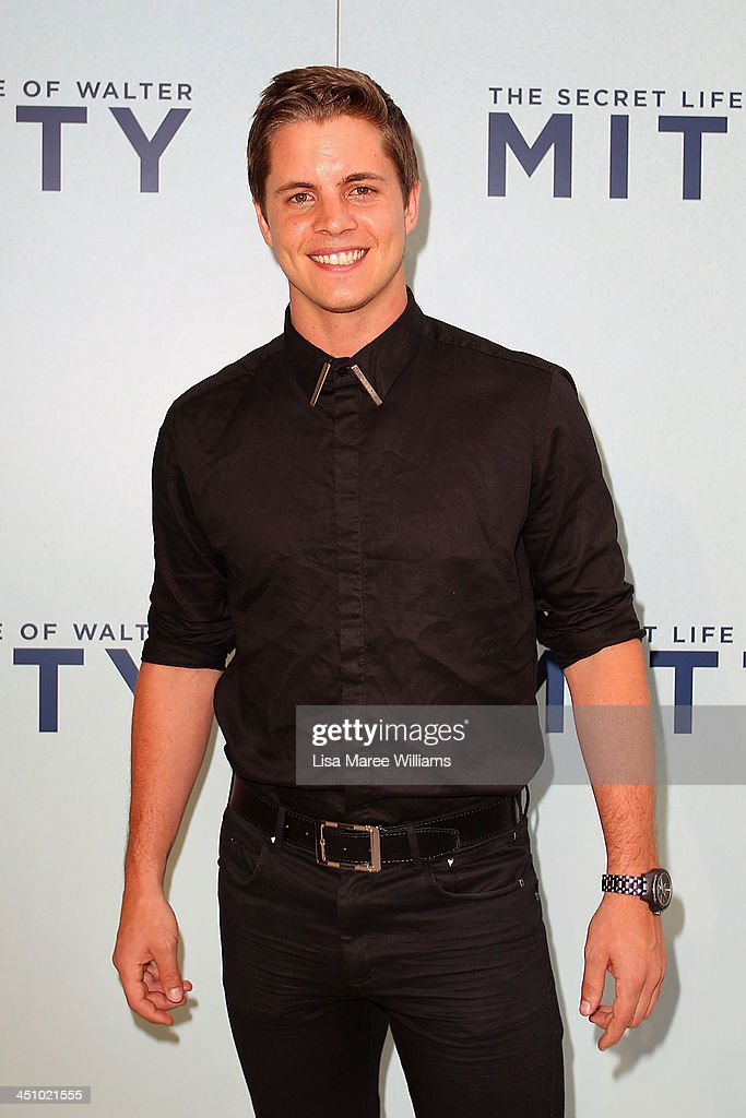 Johnny Ruffo arrives at the Australian Premiere of The Secret Life of Walter Mitty at Sydney Entertainment Centre on November 21, 2013 in Sydney, Australia.