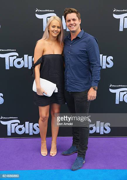 Johnny Ruffo arrives at the 'Trolls' Australian Premiere on November 20 2016 in Sydney Australia