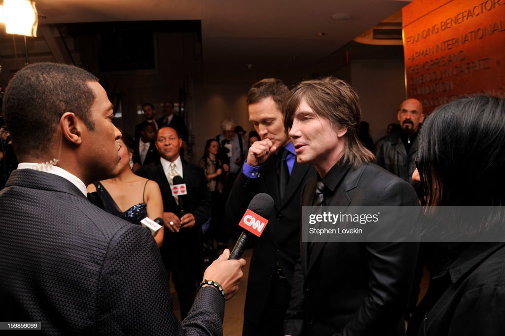 Johnny Rzeznik of the band Goo Goo Dolls attend The Creative Coalition's 2013 Inaugural Ball at the Harman Center for the Arts on January 21, 2013 in Washington, United States.
