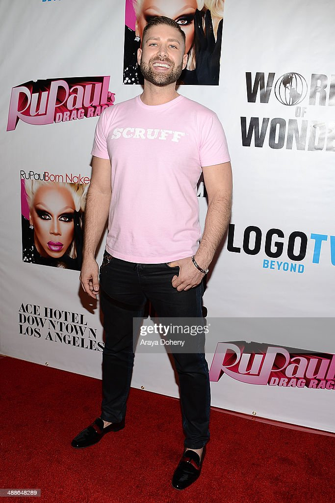 Johnny Scruff attends Logo TV's 'RuPaul's Drag Race' season 6 reunion taping at The Theatre at Ace Hotel Downtown LA on May 6, 2014 in Los Angeles, California.