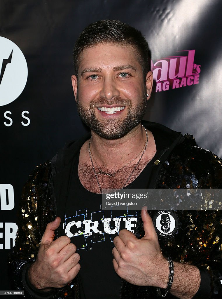 Johnny Scruff attends the 'RuPaul's Drag Race' Season 6 premiere party at The Roosevelt Hotel on February 17 2014 in Hollywood California