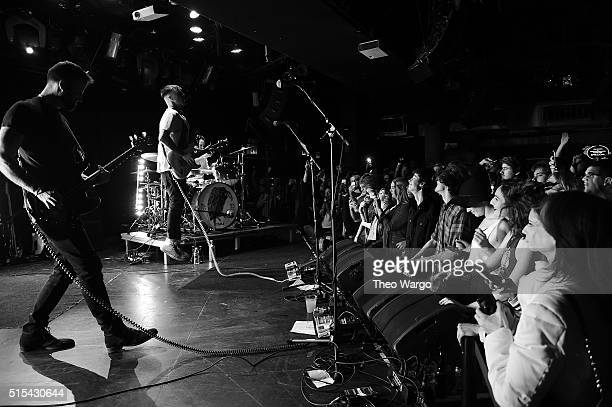Johnny Stevens of Highly Suspect performs at Le Poisson Rouge on March 5 2016 in New York City Upandcomers Highly Suspect released their first album...
