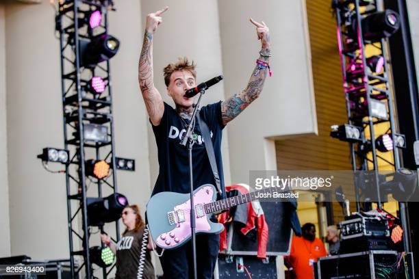 Johnny Stevens of Highly Suspect performs at Lollapalooza 2017 at Grant Park on August 5 2017 in Chicago Illinois