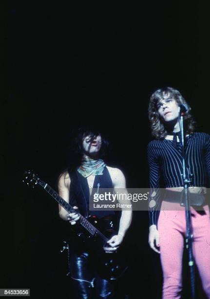 Johnny Thunders and David Johansen of New York Dolls 1973