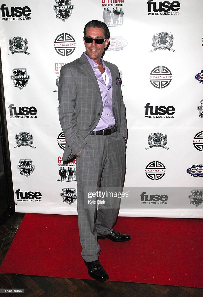 Johnny Thursday attends the 'G-Thing' Series Premiere Party at The Griffin on July 23, 2013 in New York City.